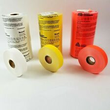 1 Roll Monarch 1131 Senso Labels Avery Dennison 78 X 44 Red White Or Yellow