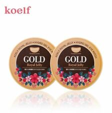 2 Pack of KOELF Gold & Royal Jelly Hydro Gel Eye Patch 60ea [USA SELLER]