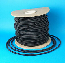 FREE P&P* 8 Metres of 6mm BLACK Elastic Bungee Shock Cord for Trailer Covers