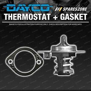 DAYCO Thermostat + Gasket for Mazda T2600 2.6L 4 cyl SOHC 8V Carb 4G54 1985-1988