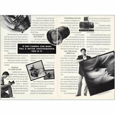 1987 Hasselblad Camera: Make You a Better Photographer Vintage Print Ad