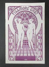 The KINKS Fillmore East 1970 Concert PROGRAM Arthur Lee + LOVE Quatermass DAVIES