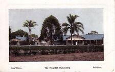 John White Postcard, The Hospital Building Bundaberg, QLD C.B. & Co Graphic