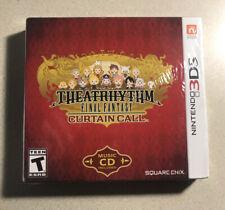 Theatrhythm Final Fantasy Curtain Call Nintendo 3Ds Brand New Sealed