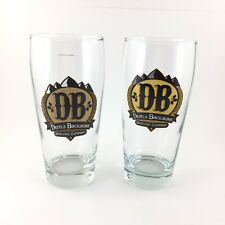 2 Devil's Backbone Beer Glasses Pint Virginia Brewing Company Pub Anheuser Busch