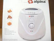 Alpina NEW 220 Volt 1L Deep Fryer for Europe UK Asia Africa 220V 240V