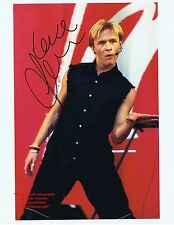 JON LEE    S CLUB 7 Band Member Singer Actor West End   HAND SIGNED Colour Photo