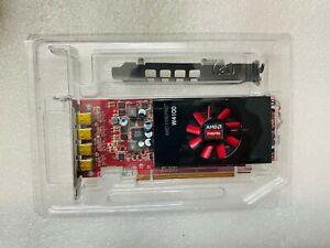 AMD FirePro W4100 2GB GDDR5 4x Mini Displayport PCI-e 3.0 Video Card