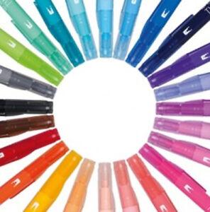 Tombow : Play Colour K (A.K.A. Twintone) Single pen. Choice of 36 colours
