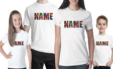 """Marvel Personalised Logo T-shirt  """"YOUR NAME"""" Stag Do Hen Mens & Women's comic"""