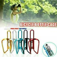 UK Aluminum Alloy Bike Water Bottle Holder Bicycle Cycling Drink Cup Cage Rack