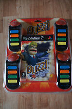 ps2 playstation 2 game buzz grand quiz boxed Buzz! french