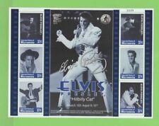 Elvis Presley Micronesian Sheet Famous People Postal Stamps