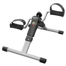 Folding Lcd Mini Pedal Exerciser Aerobic Exercise Bike Arm Leg Foot Workout Home