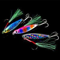 7g-30g Bass Hook Spinning Baits Lead Casting Metallfedern Angeln Lures Jig Bait