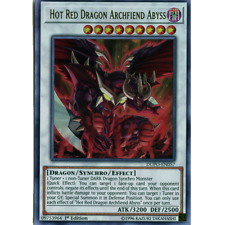 x3 Hot Red Dragon Archfiend Abyss - DUPO-EN057 - Ultra Rare - Unlimited