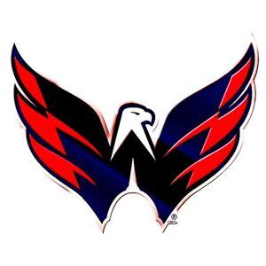 Washington Capitals Auto or Hard Surface Emblem Decal NHL Licensed Hockey