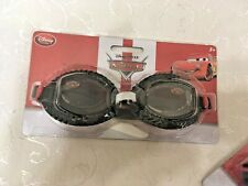 New listing Disney Pixar Cars Lightning McQueen Adjustable Swim Goggles - New 3+