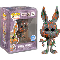 Bugs Bunny Art Series Funko Shop Pop Vinyl New Sealed in Box + Hard Protector