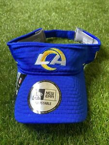 LA Rams New Era Licensed Visor NFL Los Angeles Football Cap Sun Hat New Adults