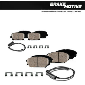 Front And Rear Ceramic Brake Pads For 2000 2001 2002 2003 BMW Z8