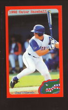 Brad Wilkerson--Florida Gators--1998 Baseball Pocket Schedule--Barnett Bank