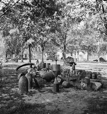 Confederate Torpedoes Shot Shell Charleston Arsenal 1865 8x10 US Civil War Photo