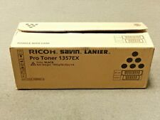 Ricoh Savin Lanier 828080 Black Toner Box Of 3 Pro 1357EX Genuine New Open Box