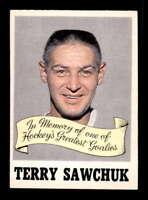 1970 O-Pee-Chee #231 Terry Sawchuk Memorial Award EXMT X1505482
