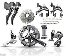 Grupos completos de cadena para bicicletas