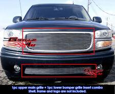 Fits GMC Yukon/Denali/99-02 Sierra Billet Grill Combo 99-06