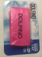 DOLFINO PREMIER Pink Silicone Swim Cap Latex Free Fits All Breast Cancer Month
