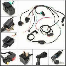 Durable Complete Electric Start Engine Wiring Harness Loom PIT Quad Dirt Bike