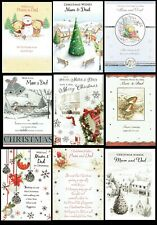 MUM and DAD ~  Quality Christmas card, Great Choice of Designs