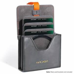 K&F Premium Square ND CPL Camera Filter Holder Case Pouch for Canon Nikon Sony