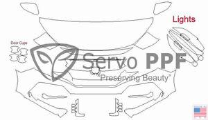 Precut 3M PRO Series Clear Bra Kit for 20+ Honda Civic Type R