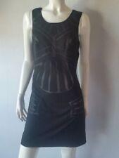 LA PERLA Kleid kurz abito corto schwarz  D42-UK16-IT48**NEU* UVP Euro 350*