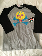 Ice Cream Billionaire Boys Club bbc Baseball Raglan Tee, L Rare, NWT
