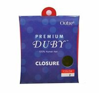 Outre Premium DUBY 100% Human Hair Closure Top Piece Hair Weave Extension