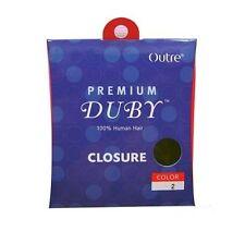 Outre Premium DUBY 100% Human Hair Closure Top Piece Hair Weave Extension
