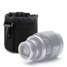 Small Lens Case Soft Neoprene for Kodak PixPro SL5 / SL10 / SL25 Lenses