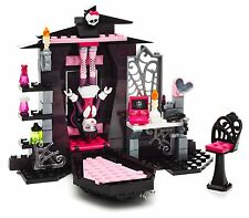 MONSTER HIGH Mega Blocks BEDROOM Lego-type Medium Building Set Laura Age 6-10