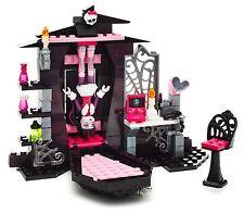 MONSTER HIGH Mega Blocks BEDROOM Lego-type Medium Building Set Laura Age 6-10