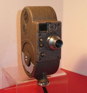 "BELL & HOWELL SPORTSTER DOUBLE RUN 8mm CINE CAMERA , with TT & H 0.5"" F2.5 LENS"