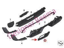 Mini F55 F56 F57 Kit de Cooper S Sd JCW AERO Parachoques Trasero Derecho Rejilla Grid (JS)
