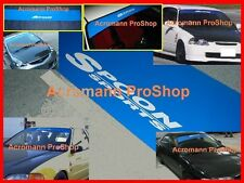 "53"" Spoon Windshield decal sunstrip banner dc2 dc5 rsx integra ek eg si ap civic"