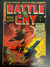 Battle Cry #13, Pre-Code Golden Age Stanmor, War Comic, 1954, FREE UK POSTAGE