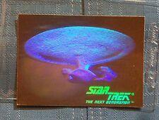 Star Trek The Next Generation Hologram Trading Card 05H 1992 Impel U.S.S. Enterp