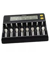 MiBoxer C8 eight slot rapid smart charger for Li-ion, Ni-Mh, Ni-Cd,