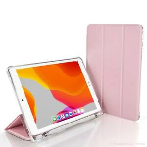 For iPad Air Pro Mini 4 5 6 7 8th Gen Case Cover Folding PU Leather Protective